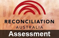 Reconciliation Australia logo with Assessment caption added