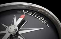 Values and moral compass