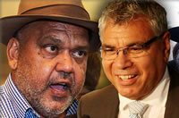 Noel Pearson and Warren Mundine