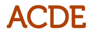 ACDE logo
